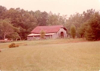 The old barn, Lassiter Family Farm, Lassiter Mill Road