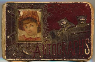 Autograph Book Cover