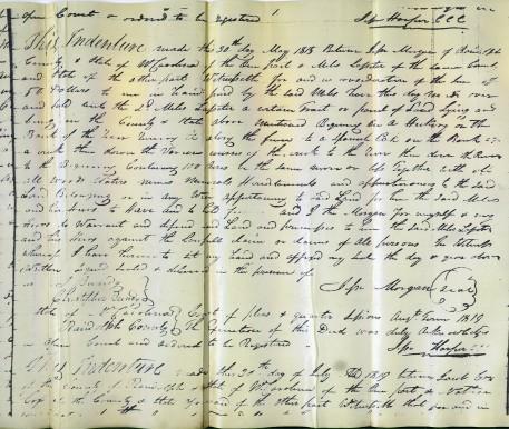 Miles 1815 Deed