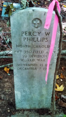 Percy Phillips Headstone 2