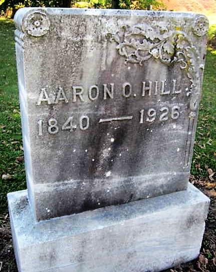 Aaron O Hill Tombstone-2