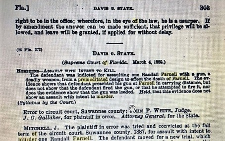Davis v State-Southern Reporter