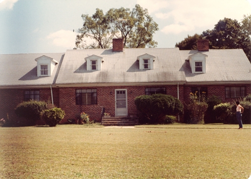 Lassiter Family Home, Lassiter Mill Road - 1982