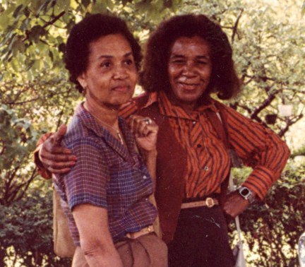 Margaret Lee Williams and Kate Lassiter Jones - 1982