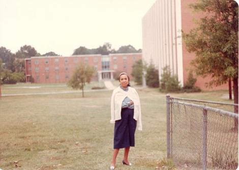 Margaret Williams at A & T University, Greensboro -1982