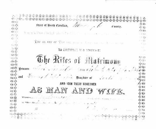 Levi Nichols + Hannah McDuffie MC 1867
